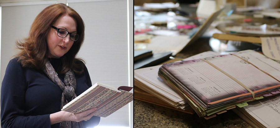 Melinda Whitlock has been journaling every day since 1975. Her collection now consists of nearly 80 journals filled with her life story, but also has an impressive pile of concert tickets that hold memories of their own.