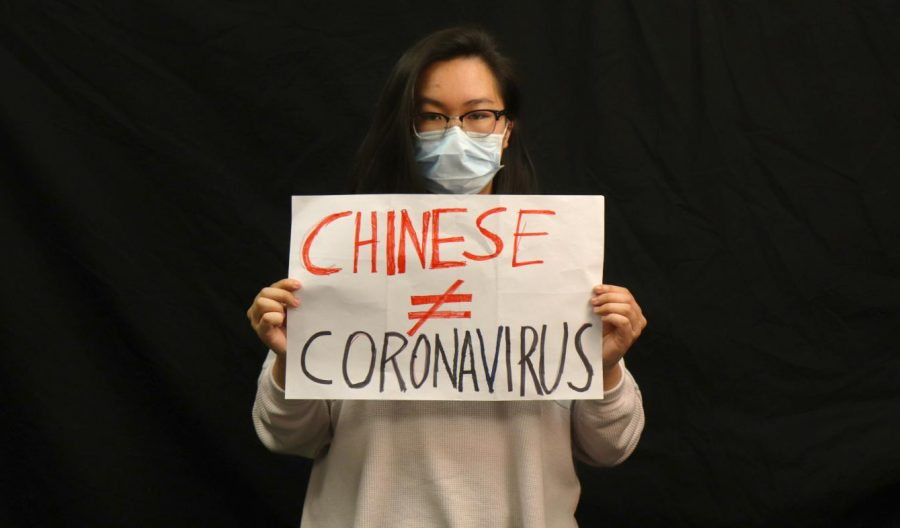 Coronavirus does not excuse racism