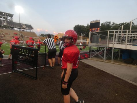 Hartsook looks back on her season as a female football player