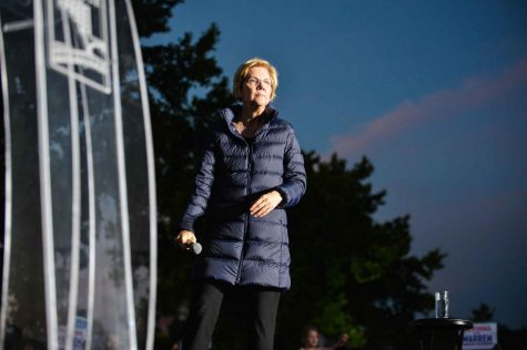 2020 Democratic Presidential Candidate Elizabeth Warren holds a rally in Oakland in May 2019. Warren was the final major female candidate left standing in the 2020 Democratic primary but dropped out of the race Thursday morning.