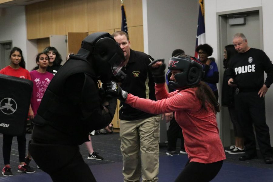 CHS girls hitting stride in self-defense classes