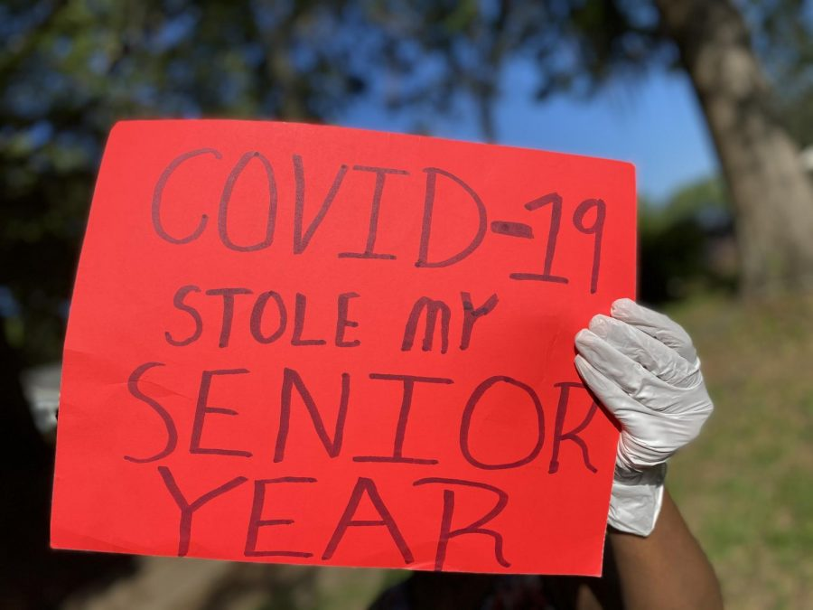 Seniors share grief about COVID-19 pandemic