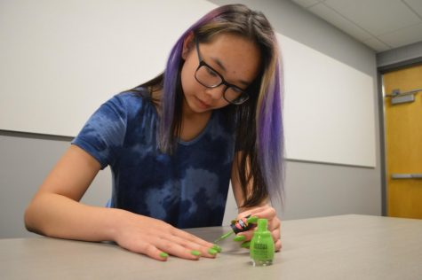 Nailed it: Nail art in the MVHS community