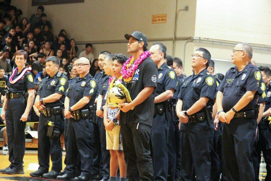 Officer Kalama recognized for sacrifice