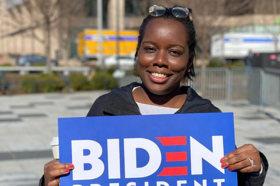Voice of STL: Biden rally at Kiener Plaza
