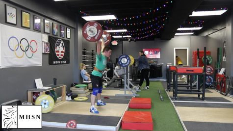 MHSNews | Competitive Weight Lifter Prepares for American Open