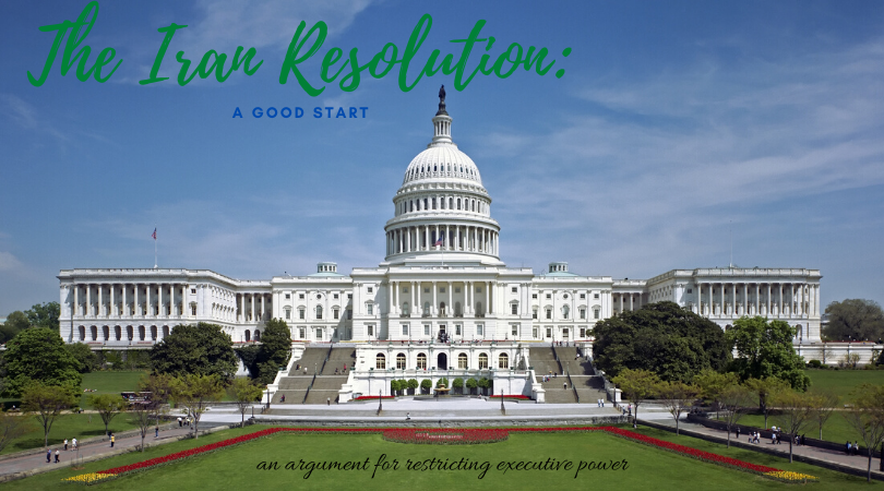 The Iran Resolution: A Good First Step
