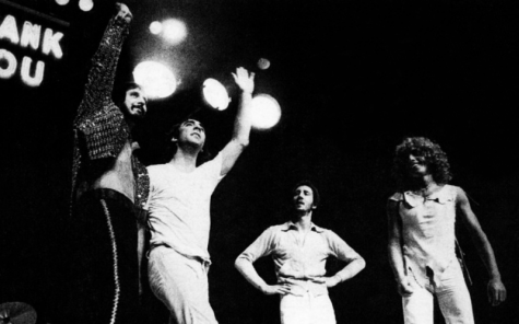 A picture from a 1974 'Billboard' magazine featuring the original members of The Who. From left to right, John Entwhistle, Keith Moon, Pete Townshend and Roger Daltrey. Now, roughly 40 years later, Townshend and Daltrey are still making music, with their latest release in Dec. 2020, WHO.