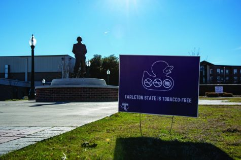 The official memo from Chancellor John Sharp requests all A&M System universities and agencies to adopt a tobacco-free policy. Tarleton decided to install a policy on all Tarleton campuses that bans all forms of tobacco.