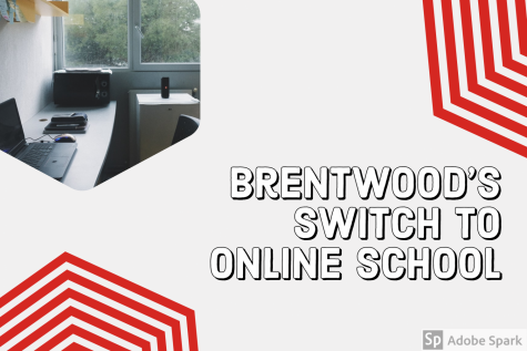 Brentwood's switch to online school