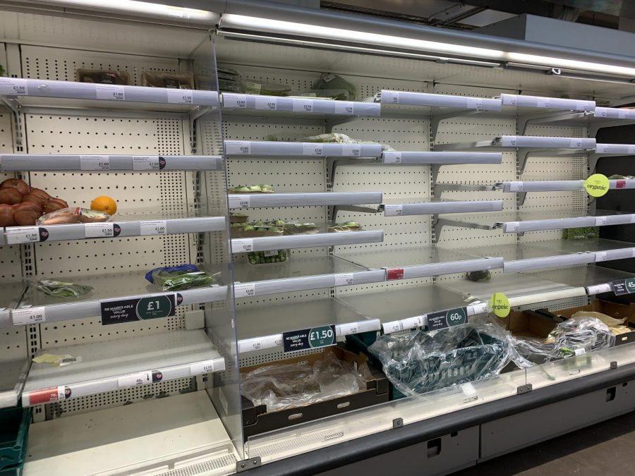 Virus fears incite panic-buying, over storage of goods
