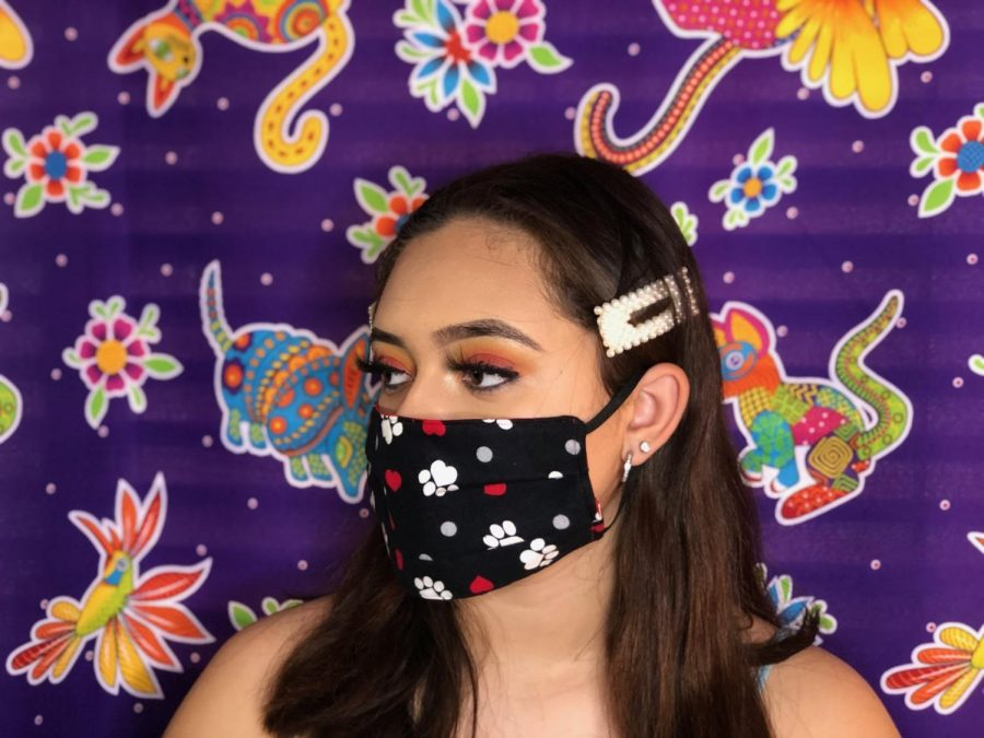 Santa Ana Community Makes Masks for Those in Need