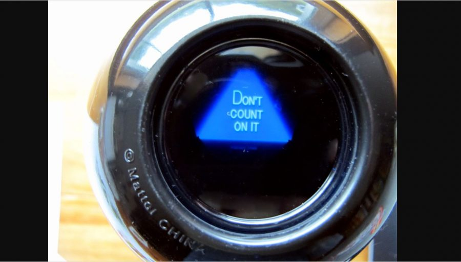 Predicting what school will be like in the fall is anyones guess. So lets ask the Magic 8-Ball: Will school be back to normal in the fall?