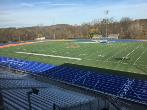 COVID-19 policies leave track empty as training and games for spring sports are put to a halt. All other school activities can similarly not meet in person.