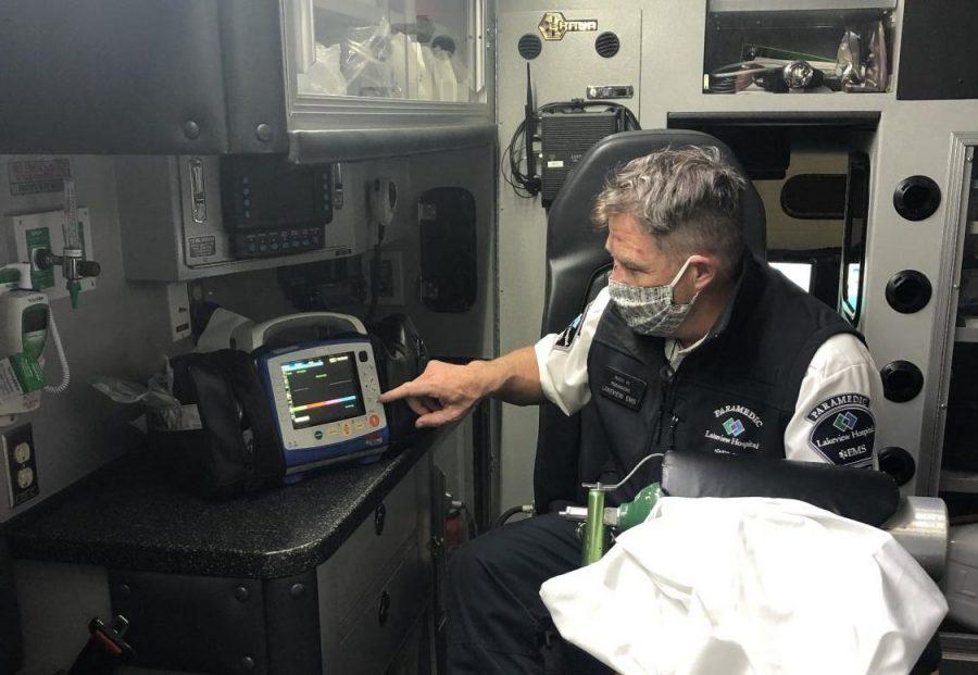 Paramedics handle COVID-19 with care