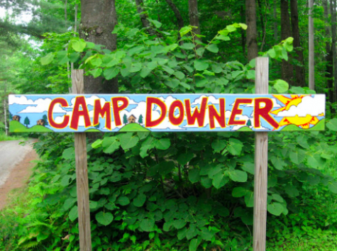 """Every summer, senior Hallie Bachman goes to Camp Downer, a sleepaway camp in Vermont. """"Camp means so much to me and it feels like a home away from home,"""