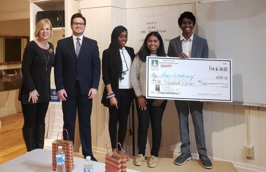 Junior Sri Jaladi Wins $500 in Spark! Pitch Competition