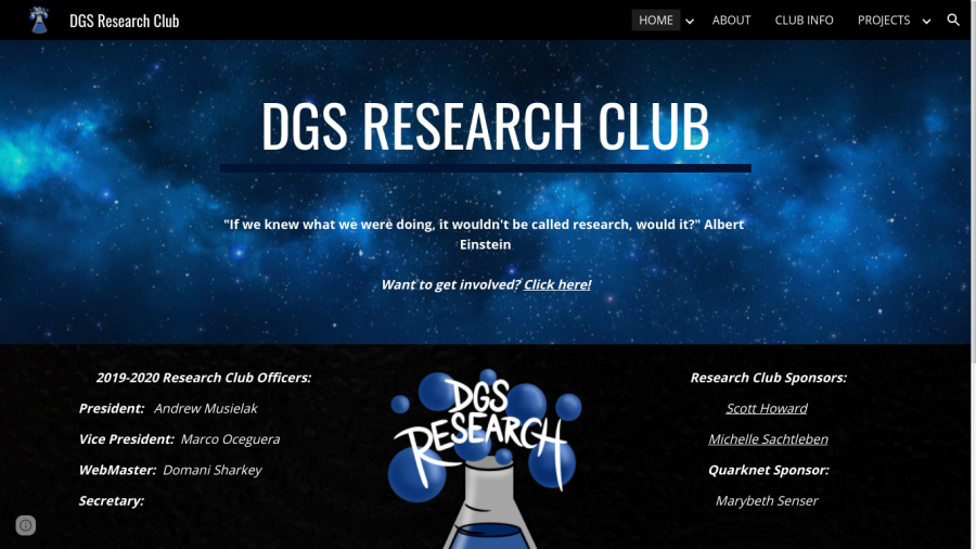 Under the microscope: An inside look at DGS's Research Club