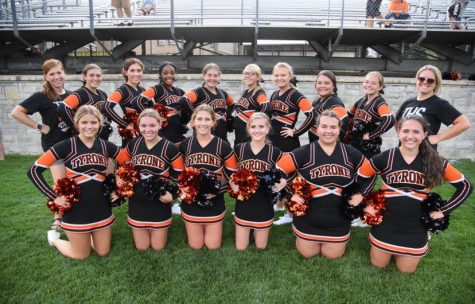 This spring the TAHS cheerleaders (pictured above) as well as several other high school squads in Blair County, decided to hold virtual tryouts instead of cancelling or postponing them until later in the year.
