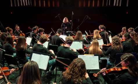Instead of a Spring Concert, the SPA Orchestra recorded a virtual performance of Nessun Dorma. This photo was taken at the 2019 Pops Concert.