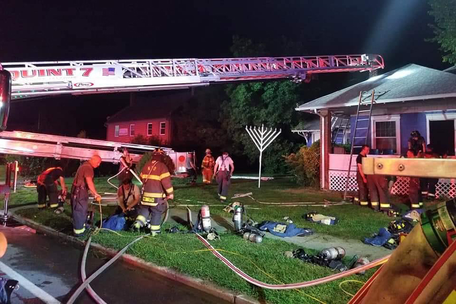 Arson at Chabad near U Delaware gives Div. 1 athlete a platform to oppose hate