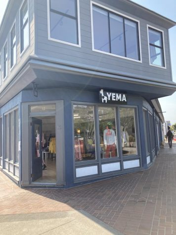 Yema Khalif's clothing store in downtown Tiburon where the owners were the target of a confrontation with police on August 21, 2020.