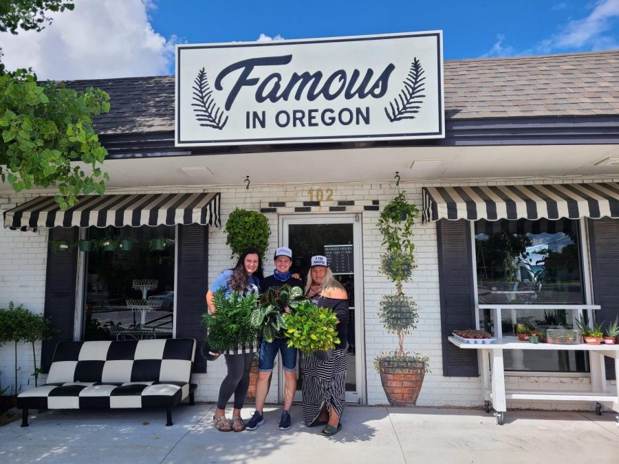 Small business owners grow community through local plant shop