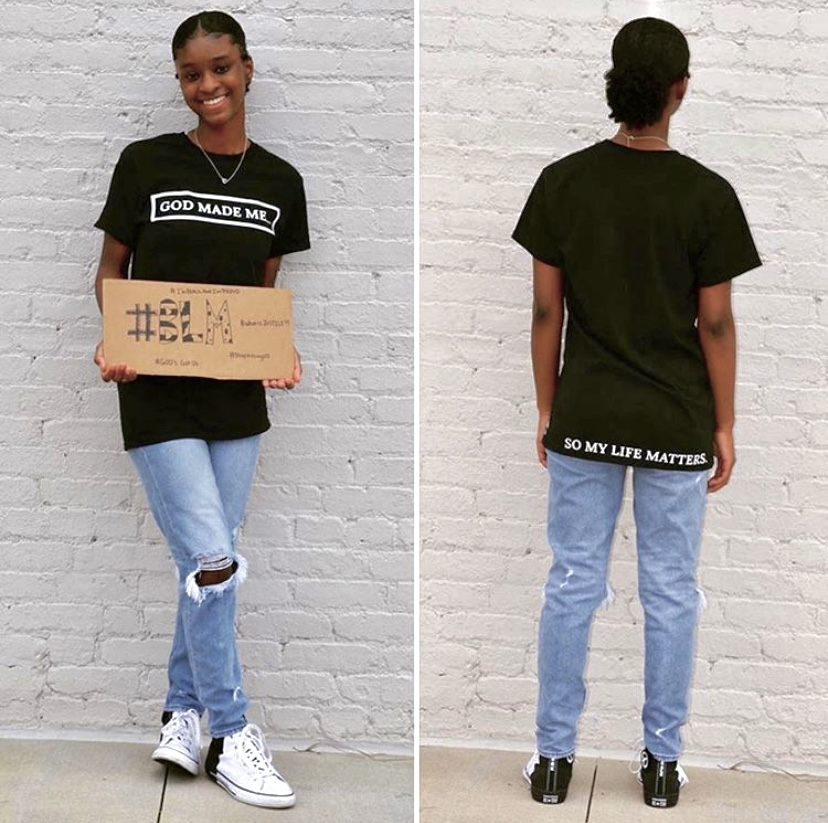 Sophomore starts Christian clothing line inspired by racial inequality