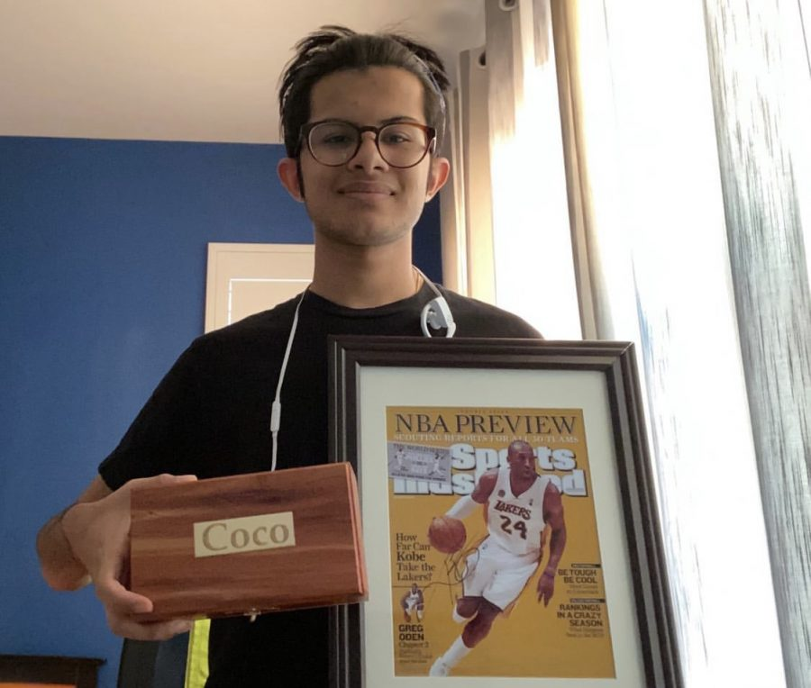 Senior+Rishav+Sen+rescued+two+of+his+most+treasured+possessions%3A+his+late+dog%E2%80%99s+ashes+and+a+signed+photo+of+Kobe+Bryant.+Sen+remarked+that+as+he+left+his+house%2C+%E2%80%9CI+brought+most+of+the+things+I+needed%2C+but+I+almost+forgot+shoes.%E2%80%9D