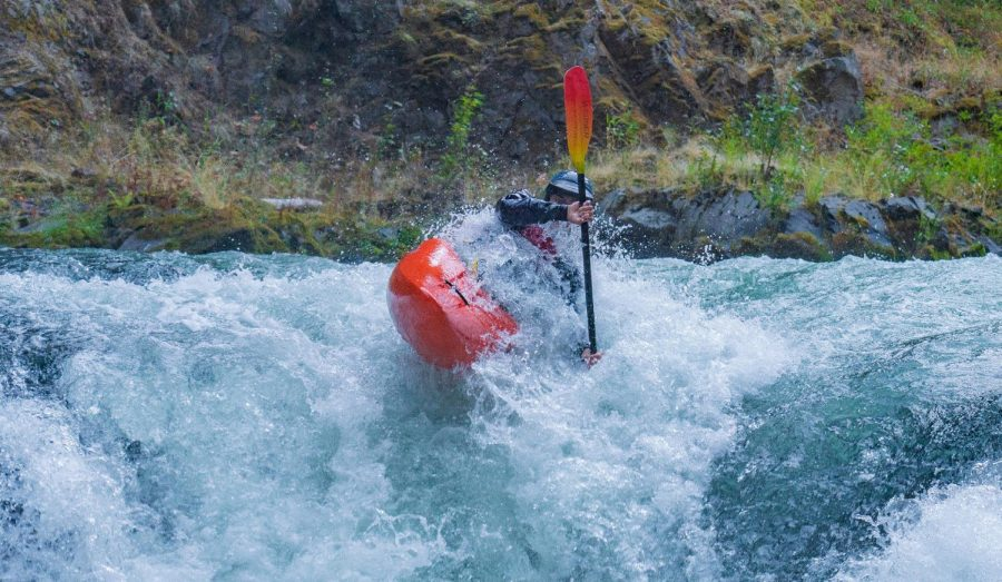 Alex+Tita%2C+a+junior+at+the+World+Class+Kayak+Academy%2C+paddles+down+the+lower+White+Salmon+River+in+Banks%2C+Idaho.+%22This+is+one+of+our+everyday+sections%2C%22+Tita+said%2C+%22I+am+taking+a+boof+stroke+over+Steelhead+Falls.%22+Photo+by+Kalob+Grady.