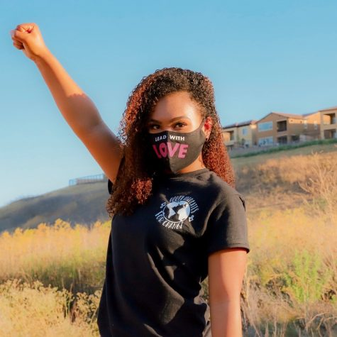 Dougherty Valley High School alumna Tiana Day ('20) led a protest and started a nonprofit to bring about change in her community.
