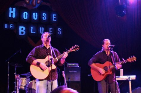 HOUSE OF BLUES. Members of Azure Bloom play the house of Blues in Chicago in the 90s. Before he became a part of his student's lives, Choir Director Ken Labonski was a part of a band, Azure Bloom.