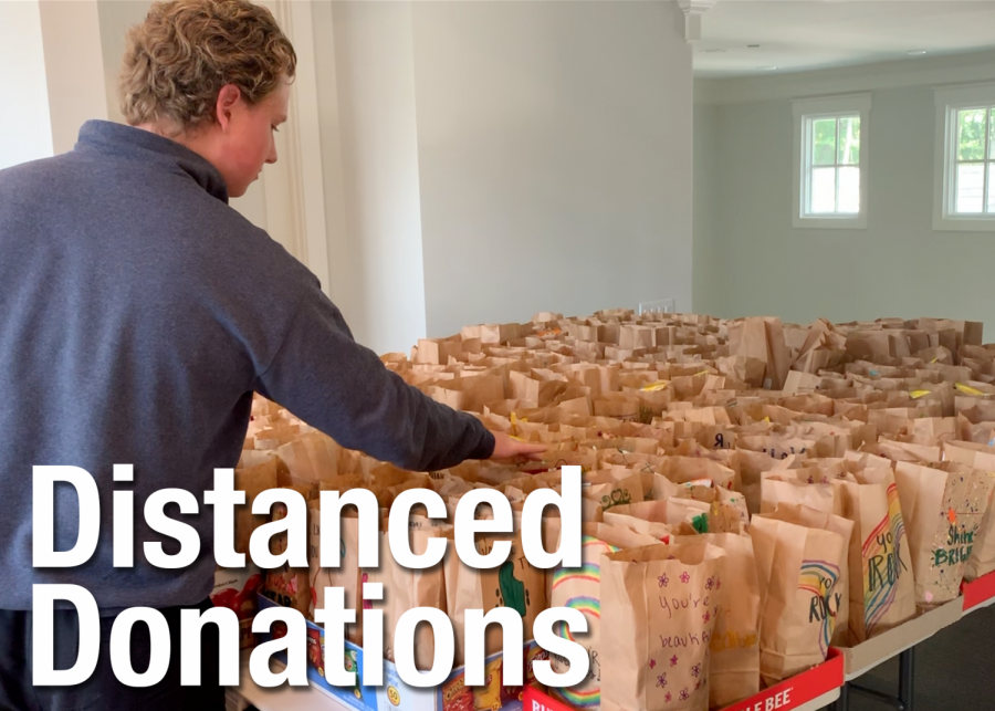 Distanced Donations