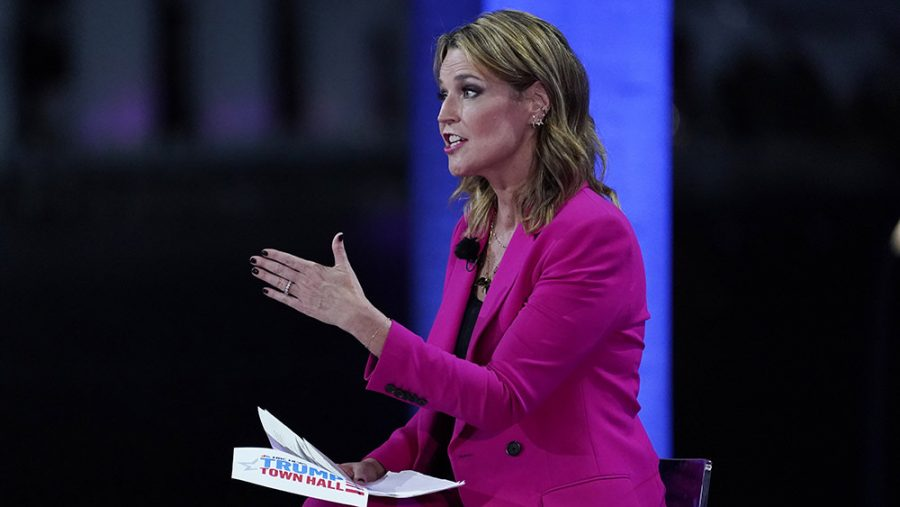 Savannah+Guthrie+challenged+all+of+President+Trump%27s+rambles+and+lies+at+his+town+hall.