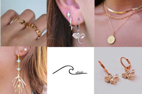 The Atiwa Collection, created by two Whitman seniors, sells European-style jewelry.