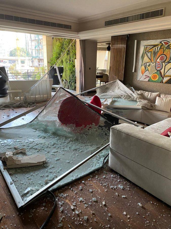 Beirut explosion survivor tells her story