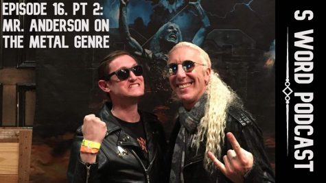 "History teacher Greg Anderson and former Twisted Sister frontman Dee Snider smile for the camera at a VIP event during Snider's solo show in Dallas. After Snider signed Anderson's copies of the Twister Sister albums You Can't Stop Rock 'n' Roll and Stay Hungry, Anderson told Snider how much he admired him for his role fighting censorship in the Parents Music Resource Center U.S. Senate hearings. ""He made a joke about how funny it would have been if Bob Denver had been at the hearings instead of John Denver,"" Anderson said. ""He asked if I wanted to make tough guy faces in the picture, and I asked him if we could smile instead. He was very nice and everyone was walking away very happy from the experience."" Anderson also told MacJournalism that he first became a fan of Twisted Sister after seeing the band's appearance in the final chase scene in the 1985 movie Pee Wee's Big Adventure and that he caught a guitar pick during Snider's show."