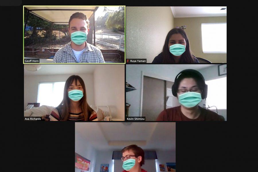Clubs keep connection through virtual meetings