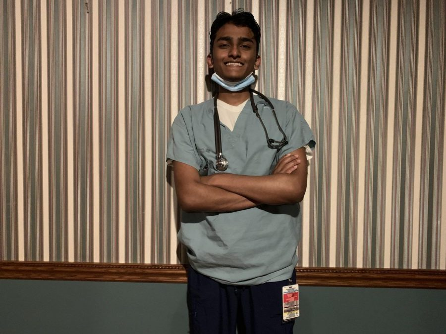 The 17 year-old in scrubs: Lestin Kandakudy finds a place in nursing