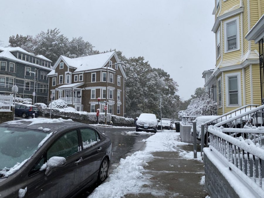Boston might have just had its first snow but rising temperatures remain a threat to communities