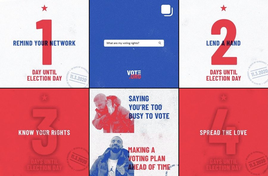 Social media influences young people to vote