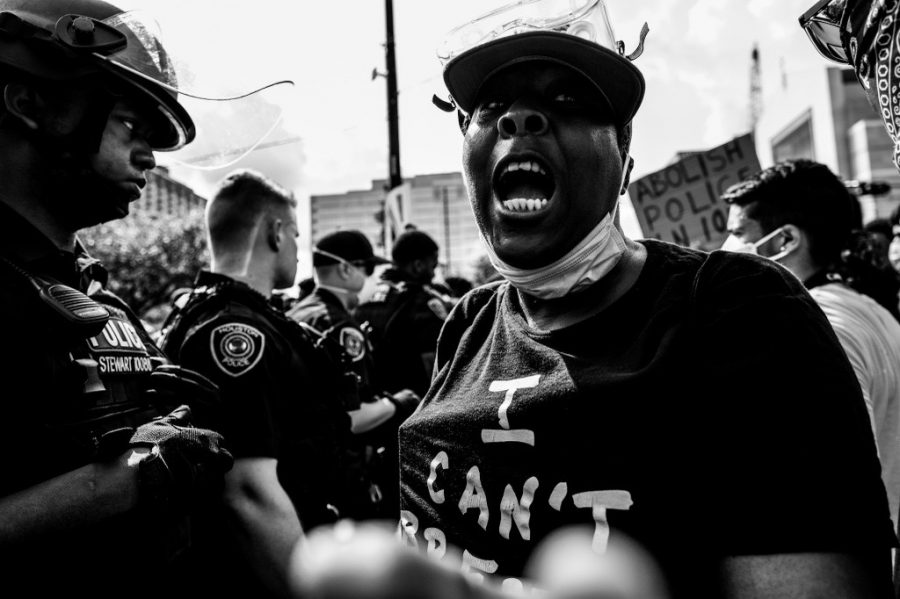 Through the lenses of junior Humza Hanif: A summer of chronicling the Black Lives Matter protests