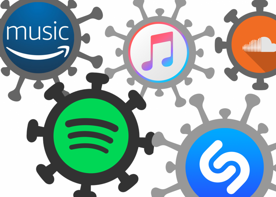 Different streaming services have allowed student artists to release their music.