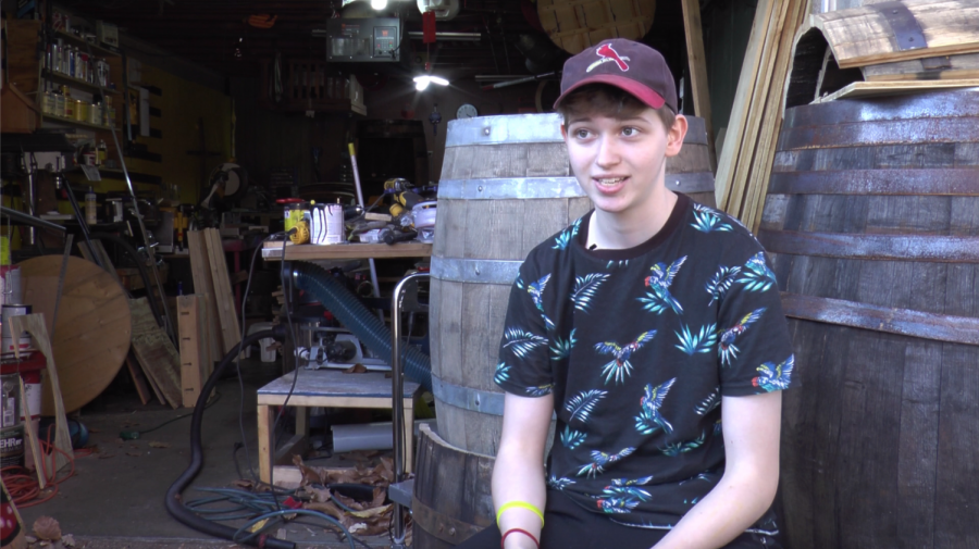Scrap Wood Syd: The passion of a student woodworker