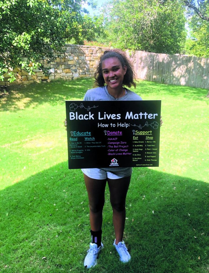 Senior raises funds for BLM movement