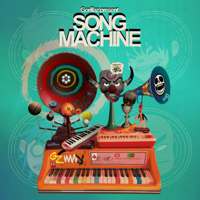 Gorillaz's 'Song Machine' Presents a Fragmented Look at 2020