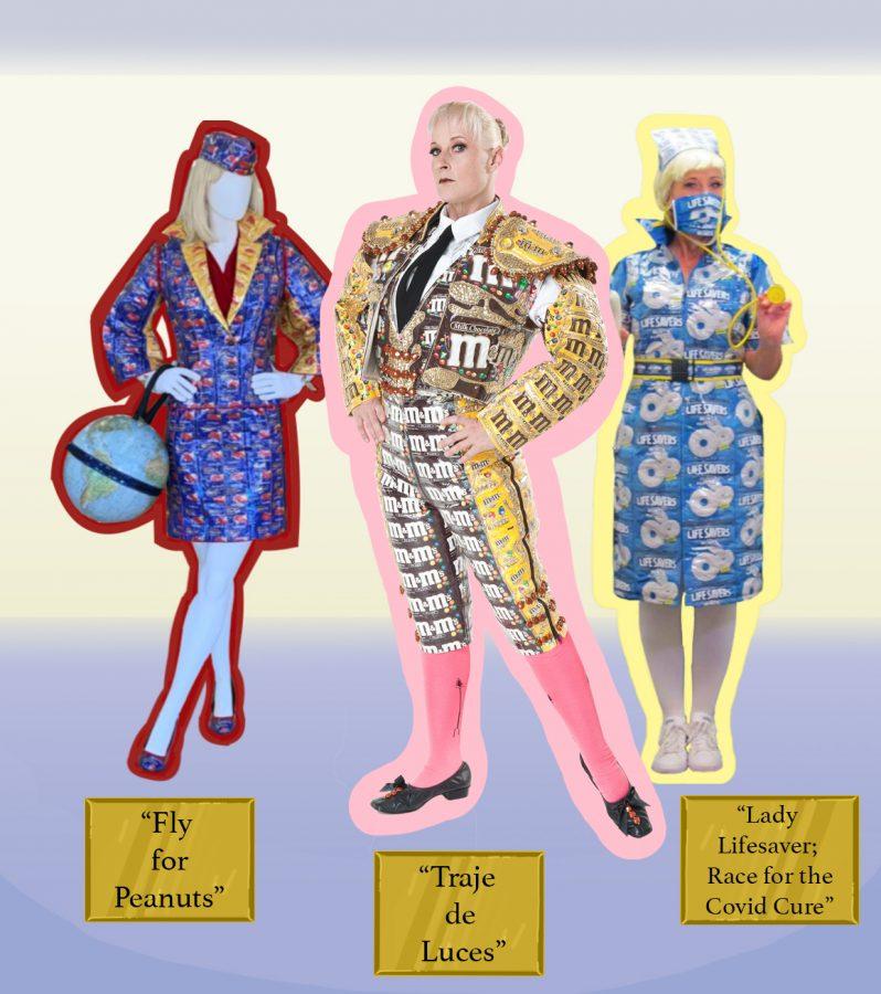 From scraps to sculptures: Kruk's wearable art