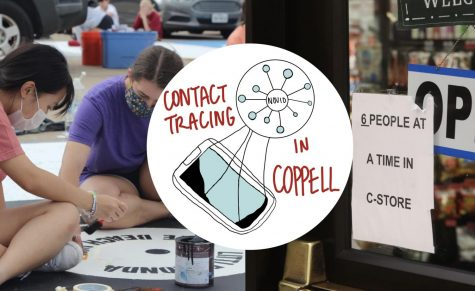 Coppell ISD conducts manual contact tracing, in which a team of six district leaders receive phone calls and answer questions from administrators and nurses across 18 campuses daily. NOVID, a COVID-19 radar mobile application developed by Carnegie Mellon University associate professor Dr. Po-Shen Loh, was pitched to CISD in August, but the district is not planning to adopt it at this time.