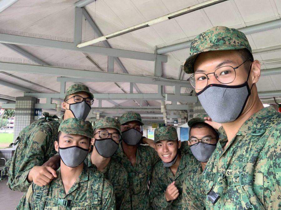 LAHS graduate Daniel Lim begins service in Singapore Army