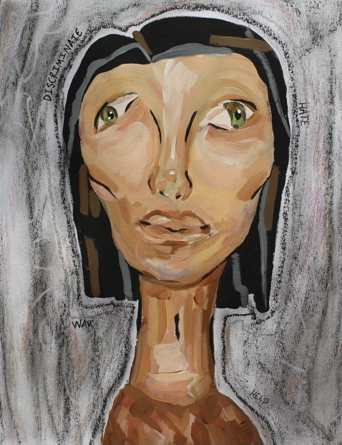 Andrea Kaiser rises in popularity on TikTok through art